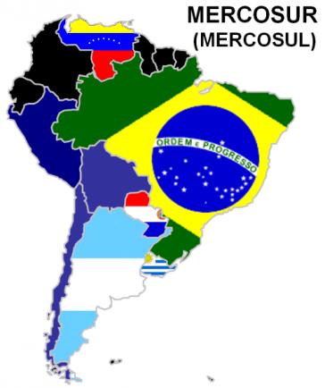 Die Mercosur-Länder auf einen Blick