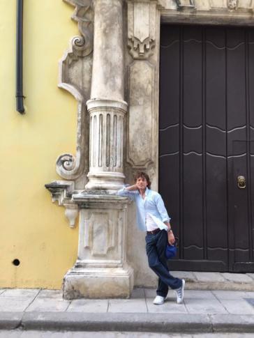 Jagger am 5. Oktober in der Altstadt von Havanna