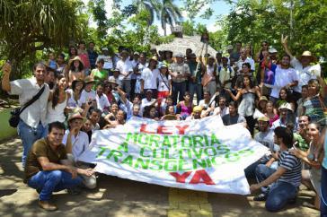 Aktivisten in Costa Rica fordern seit Jahren ein Moratorium  für den Anbau gentechnisch veränderter Lebensmittel