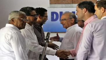 Die Friedensdelegationen einigten sich auf eine Kommission zur Überwachung der Waffenruhe
