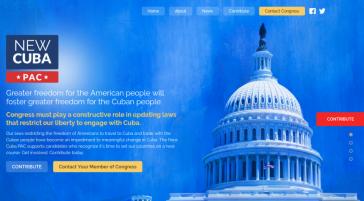 Die Parteispendenvereinigung New Cuba PAC unterstützt US-Politiker und Kandidaten, die für freien Handel und Reisen nach Kuba eintreten