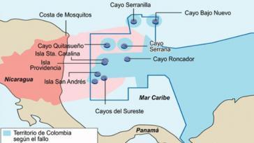 Der Grenzkonflikt zwischen Nicaragua und Kolumbien wird erneut verhandelt