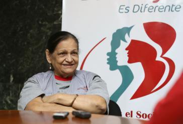 Nora Castañeda (1942–2015) war Präsidentin der Banmujer in Venezuela. Bis 2001 arbeitete die Ökonomin am Institut für Frauenforschung der Universidad Central in Caracas