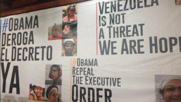 Kampagne gegen das antivenezolanische Dekret Obamas