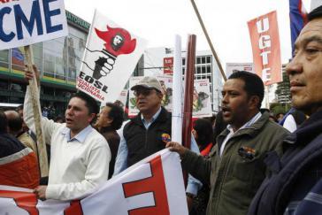 """Die """"Koordination der Arbeiter, Indigenen, Bauern und Volksorganisationen"""" (Cutcop) kündigt neue Proteste an"""
