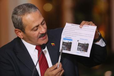 Carlos Osorio verweist auf die manipulative Darstellung von Protesten in Sozialen Netzwerken