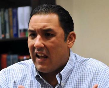 Darf nicht an den Parlamentswahlen im Dezember teilnehmen: Oppositionspolitiker Pablo Pérez