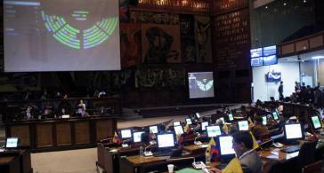 Plenarsitzung des Parlaments von Ecuador