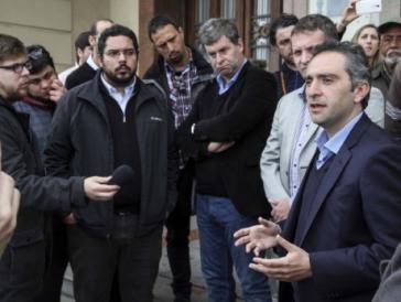 Die Parlamentier des Mercosur kamen zu einer Sitzung in Montevideo, Uruguay, zusammen