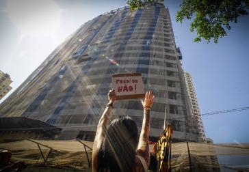 """""""Keine Gebäude"""" - Spontandemonstration nach der Räumung"""