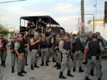 Mexikanische Bundespolizisten, hier bei einem Einsatz in Michoacán