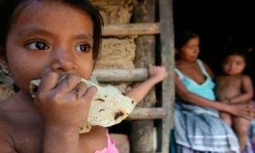 4,7 Millionen (11,9 Prozent) mexikanische Kinder leben in extremer Armut