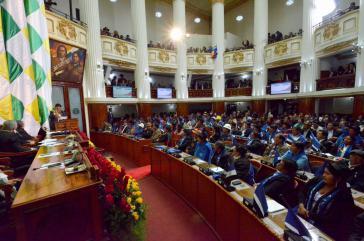 Plenarsaal des Parlaments