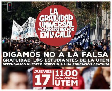 """Aufruf zur Demonstration am 17. Dezember: """"Die kostenlose Hochschulbildung erobern wir auf der Straße"""""""
