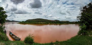Braune Brühe – der Rio Doce nach dem Bruch des Staudamms