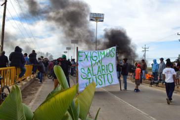 Obwohl fast zwei Monate vergangen sind und trotz der Repression zeigt die Bewegung der Landarbeiter keine Anzeichen physischer Erschöpfung oder nachlassender Kampfbereitschaft