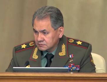 Russlands Verteidigungsminister Sergei Schoigu