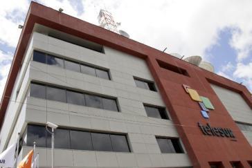 Sitz von Telesur in Venezuelas Hauptstadt Caracas
