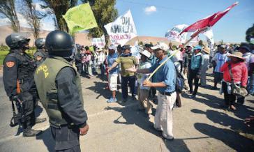 Soziale und politische Organisationen aus der Stadt Arequipa haben sich mit den ländlichen Protesten solidarisiert