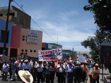 "Trotz Dialog: Proteste gegen Bergbauprojekt ""Tia Maria"" halten an"