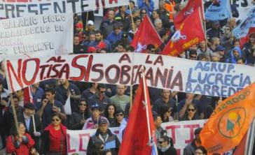 Nach massiven Protesten des Gewerkschaftsverbandes PIT-CNT sowie politischer und sozialer Bewegungen hat Uruguay sich aus den Tisa-Verhandlungen zurückgezogen
