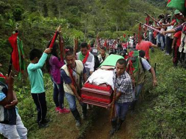 Allein in der zweiten Aprilwoche sind sieben Nasa-Indigene ermordet worden