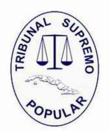 Siegel des Obersten Gerichtshofes von Kuba