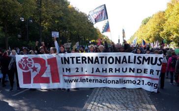 TTIP-Demonstration in Berlin am 10. Oktober 2015