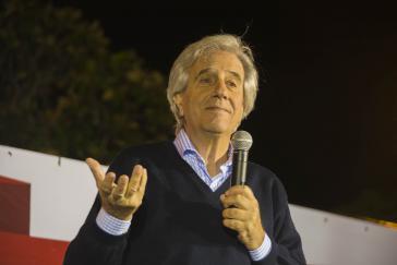 Uruguays Präsident Tabaré Vázquez will die Beziehungen zu Italien vertiefen