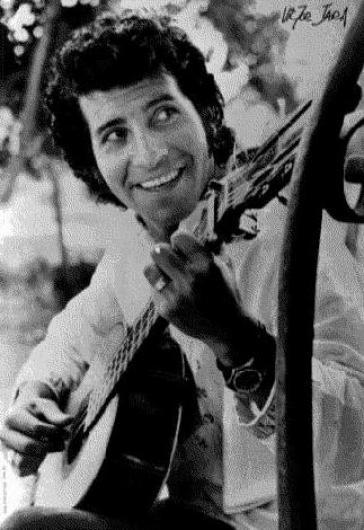 Victor Jara wurde mit seinem Protestliedern zum Idol der armen Landbevölkerung Chiles