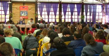 """Die Tagung """"Kritisches Denken im Angesicht der kapitalistischen Hydra"""" hatte mehr als 1.500 Teilnehmer."""