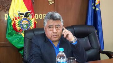 Vize-Innenminister Rodolfo Illanes wurde am 25. August von streikenden Bergarbeitern ermordet