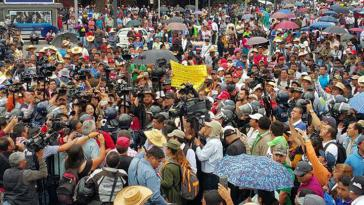 Tausende Lehrerinnen und Lehrer protestierten gegen die Bildungsreform der Regierung