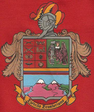 Das Wappen der ecuadorianischen Streitkräfte.