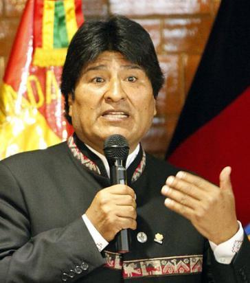 Boliviens Staatsoberhaupt Evo Morales will die Wirtschaft stärken