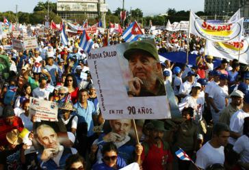 1. Mai-Kundgebung in der kubanischen Hauptstadt Havanna