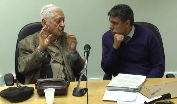 Adhemar Rudge und Dr. Pedro Machado