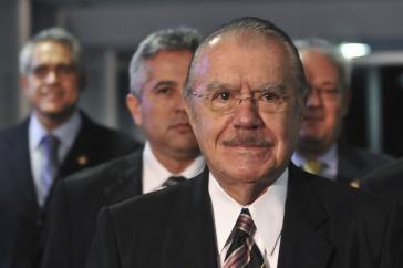 Strippenzieher im Hintergrund: der frühere brasilianische Präsident José Sarney (PMDB)