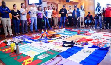Medienvertreter aus Lateinamerika beim Treffen in Venezuela