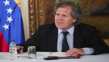 OAS-Generalsekretär Almagro besucht Nicaragua