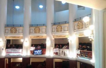 """Angehörige von Diktaturopfern waren bei der Parlamentsdebatte im Plenarsaal. Die """"Vereinigung der Angehörigen von Gefangenen, Verschwundenen und Märtyrern der nationalen Befreiung Boliviens"""" fordert seit Jahren eine Wahrheitskommission"""