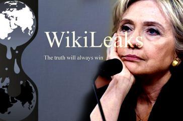 assange bilang wikileaks hillary