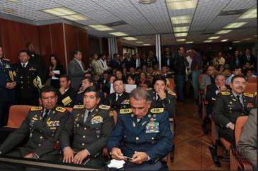 Die frühere Führungsspitze der Streitkräfte Ecuadors