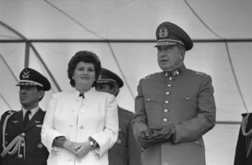 Das Ehepaar Pinochet