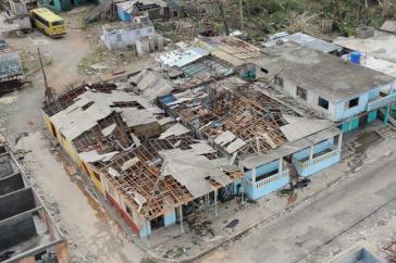 Im Kreis Maisi wurden nahezu alle Häuser zerstört oder beschädigt
