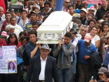 Berta Cáceres wurde in der Nach vom 2. auf den 3. März von Unbekannten in ihrem Haus erschossen