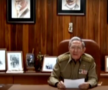 Rául Castro verkündet den Tod des Revolutionsführers