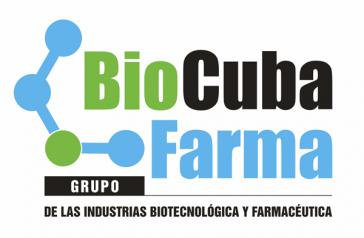 Logo der staatlichen kubanischen Unternehmensgruppe BioCubaFarma