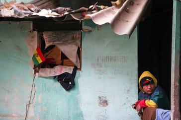 Auch das San-Pedro-Gefängnis in La Paz ist überfüllt