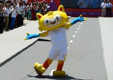 Olympia-Maskottchen in Brasilien